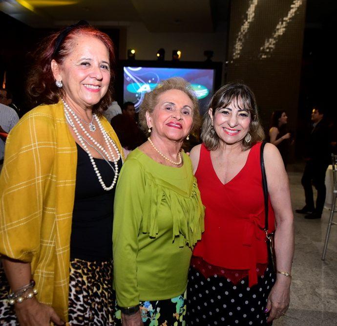 Fátima Duarte, Marlene Cabral e Lucrecia Araújo