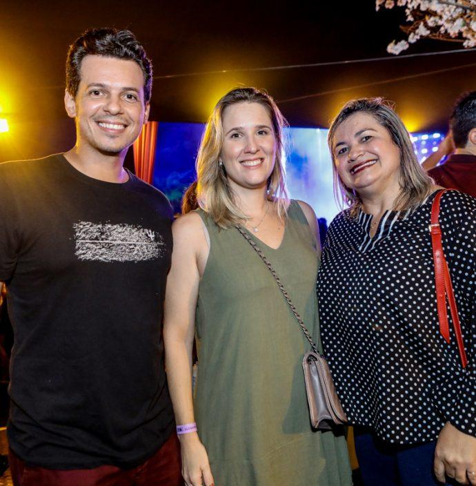 Felipe Brasileiro, Natalia Brasileiro E Marilaque Queiroz