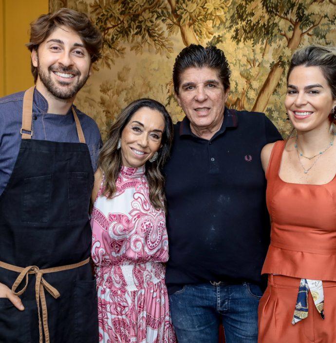 Felipe Caputo, Marcia Tavora, Dito Machado E Amanda Tavora