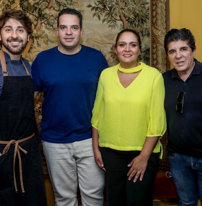 Felipe Caputo, Thiago Holanda, Patricia Sudat E Dito Machado