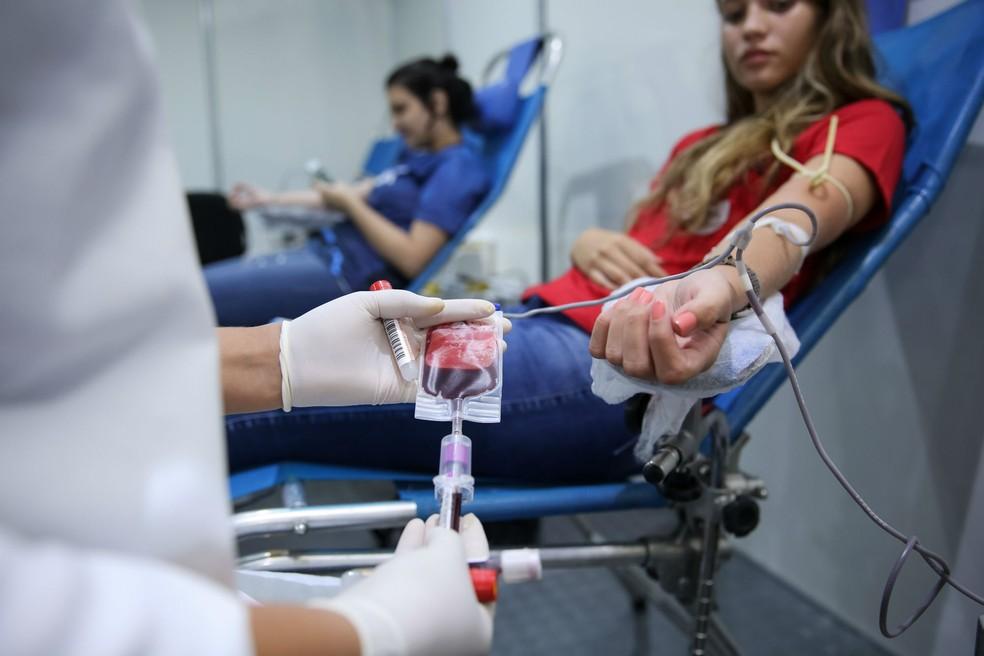 Hemoce inicia campanha de doação de sangue na Unifor