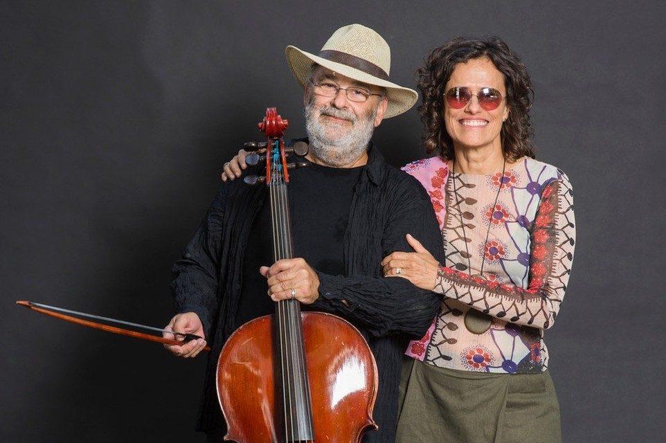 Zélia Duncan e Jaques Morelenbaum fazem show em Guaramiranga