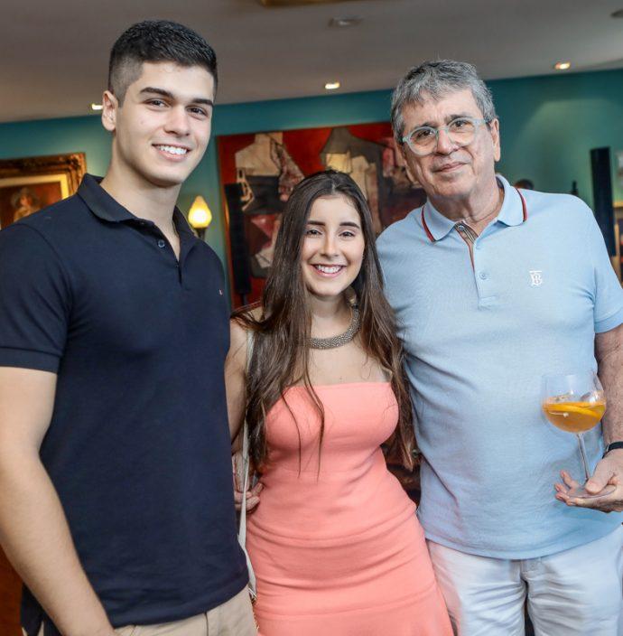 Francisco Viana, Yarissa Feitosa E Marcio Tavora
