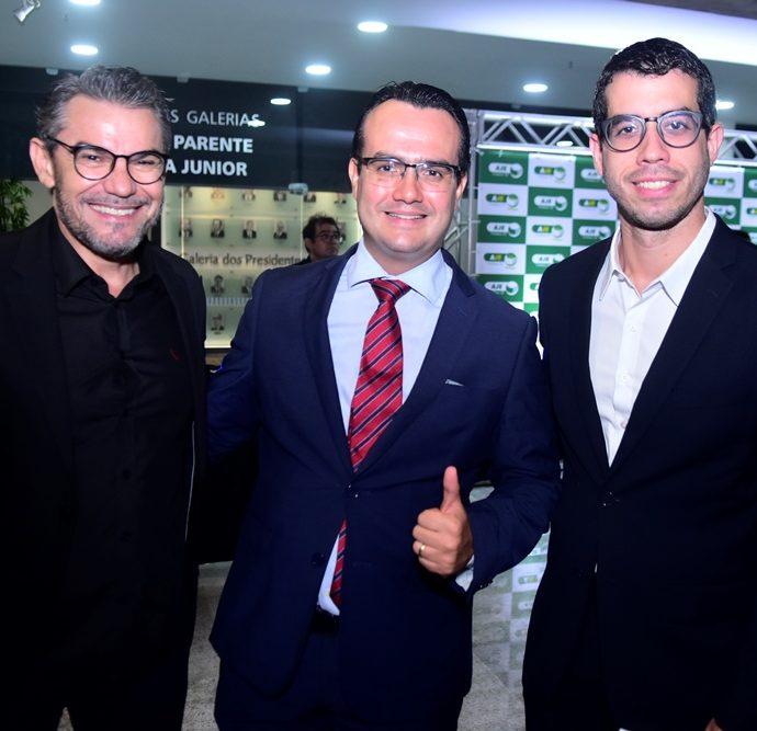 Fred Pinho, Domingos Cordovil e Igor Falcão