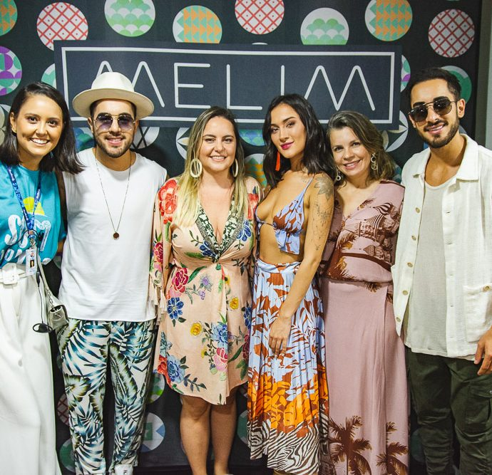 Gisele Leal, Rodrigo Melim, Clarisse Linhares, Gabi Melim, Alyne Menezes E Diogo Melim