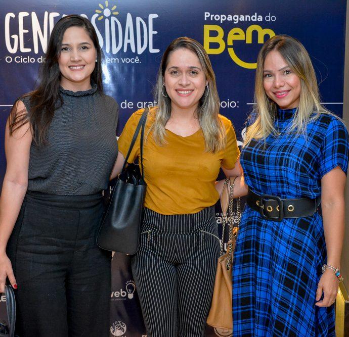 Grace Linhares, Luciana Castro E Rany Alcantara