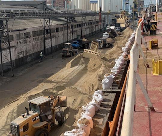 Porto de Fortaleza amplia em 128,87% na movimentação de granéis sólidos em janeiro