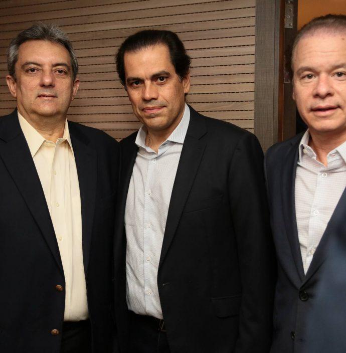 Guedes Neto, Etevaldo Nogueira E Lisandro Fujita