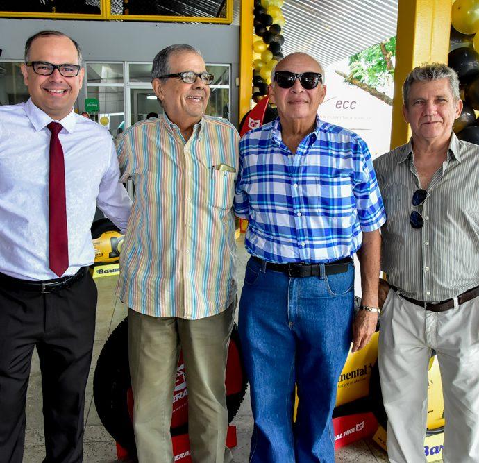 Gustavo Menezes, Maninho Brígido, José Bastos E José Rodrigues