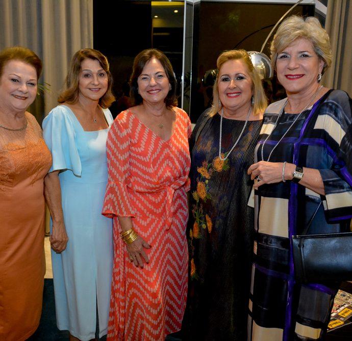 Helena Diogo, Teresa Costa, Ana Maria Studart, Teresa Gurgel E Stella Rolim