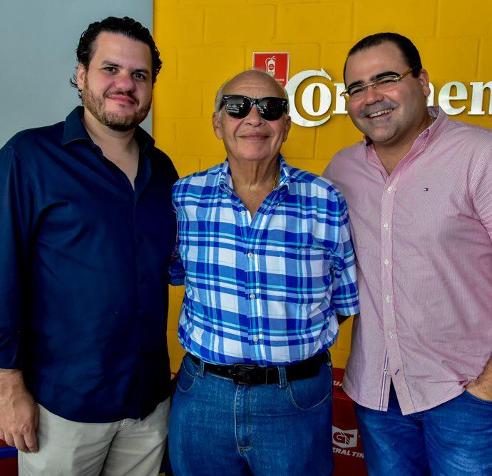 Humberto Fontenele, José Bastos E Luciano Neto