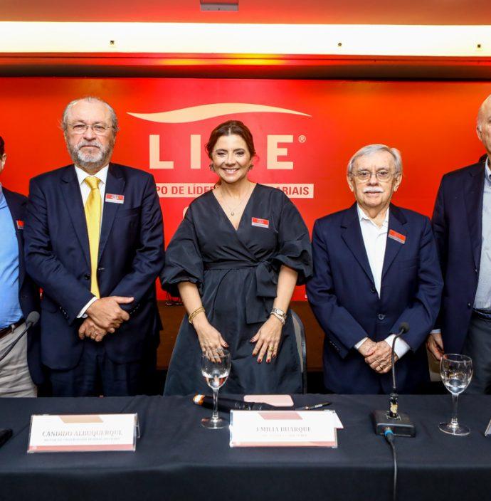 Igor Barroso, Cândido Albuquerque, Emilia Buarque, Raimundo Padilha E Lauro Fiuza