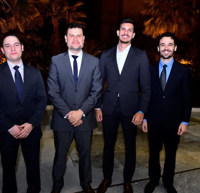 Igor Nogueira, Gustavo Gusmão, João Justo, Nuno Teixeira