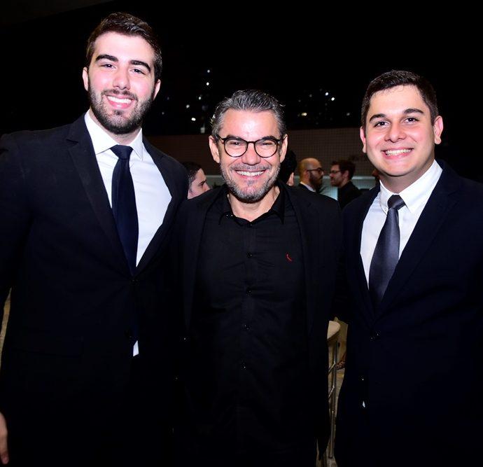 Igor Pinheiro, Fred Pinho e Romualdo Neto