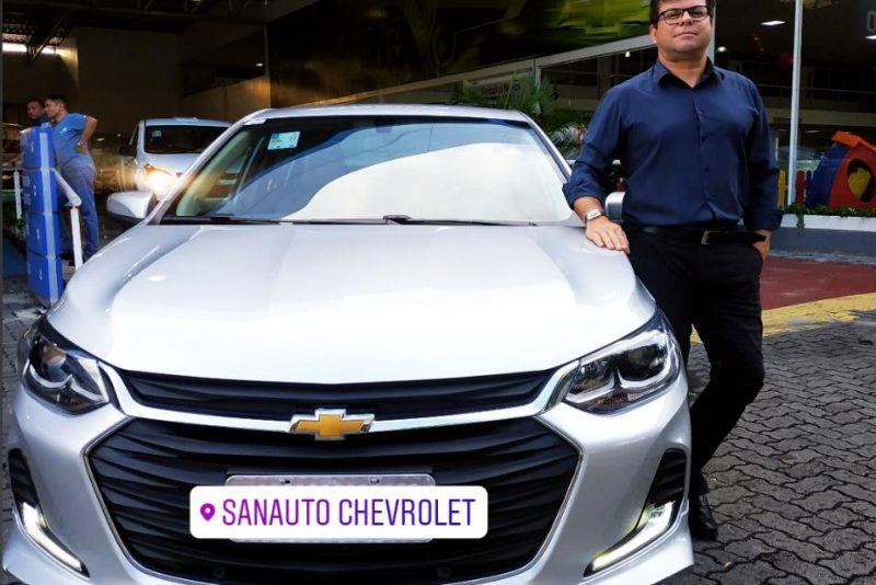 Novo Onix Sedan deslancha e vende bem na Sanauto
