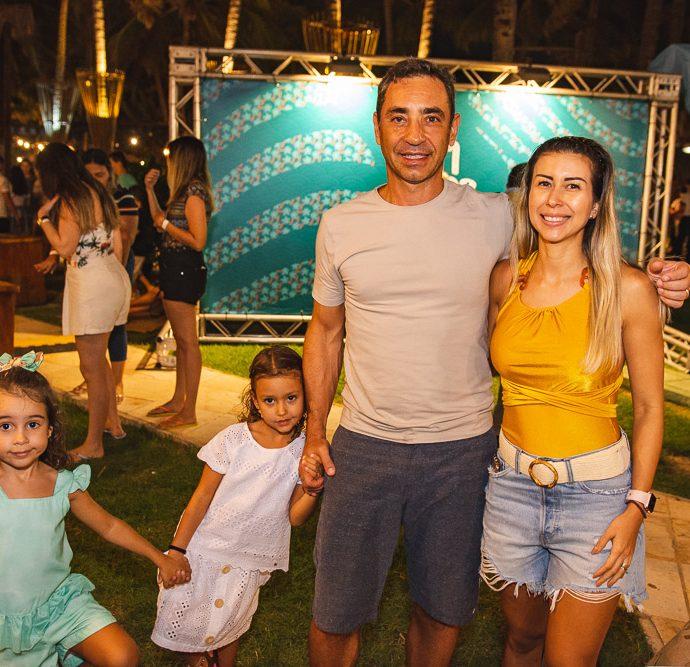 Isabel, Renata, Ronaldo E Jessica Munhoz