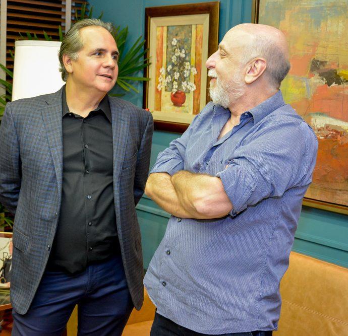Ricardo Bacelar e João Medeiros