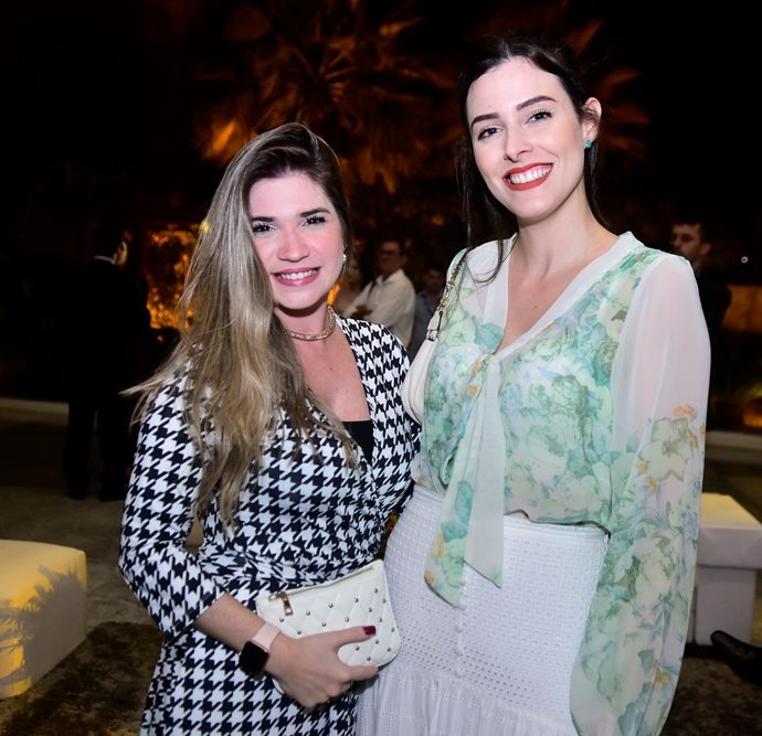 Jessica Ximenes e Amanda Timbó
