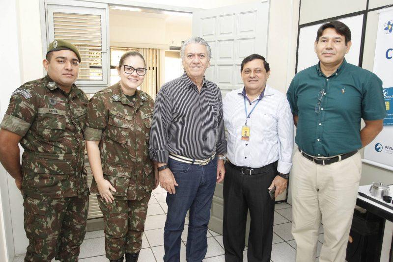 Joao Felipe, Talita Teixeira, Clovis Nogueira, Jose Menezes E Jose Wilson