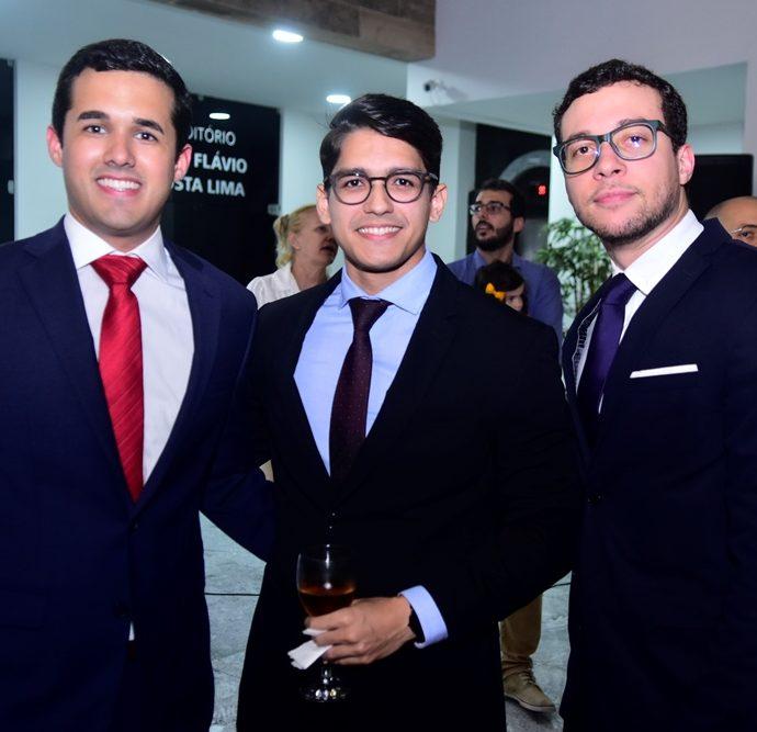 João Porto, Marcílio Dantas, Bruno Fernandes