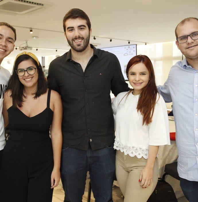 Jorge Henrique, Milena Tavera, Ivo Pinheiro, Paloma Costa E Bruno Vercosa