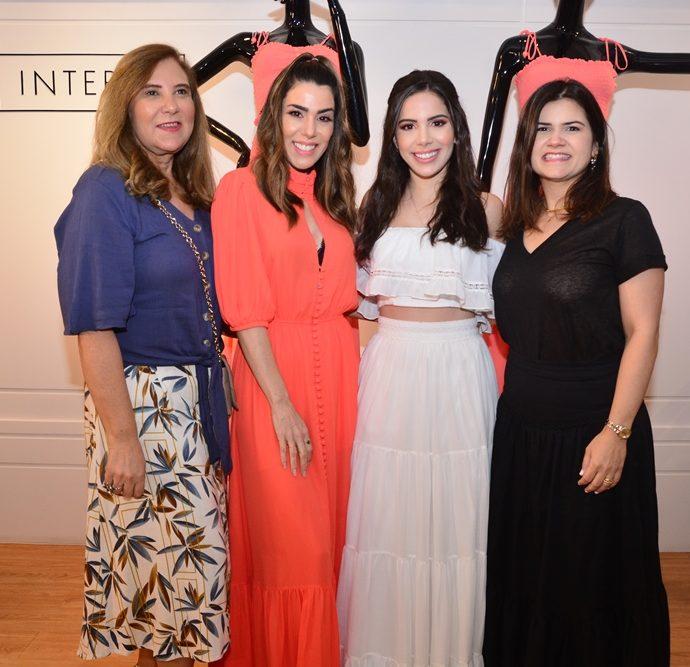 Jória Araripe, Juliana Cordeiro, Nicole Vasconcelos E Ticiana Brigido