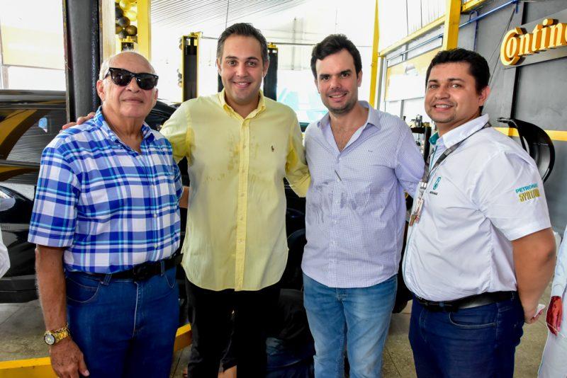 Tradição - Neto de Gerardo Bastos, Bruno Bastos inaugura nova loja de pneus na Aldeota