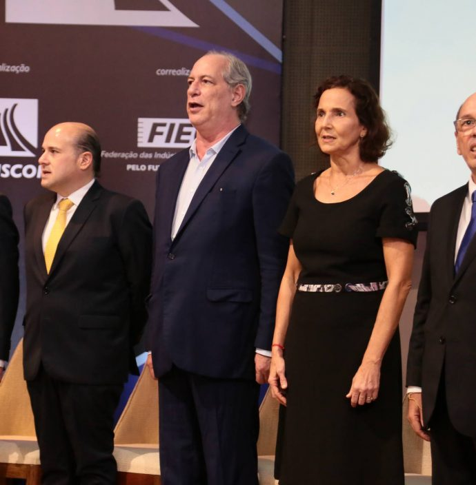 Jose Carlos Martins, Roberto Claudio, Ciro Gomes, Izolda Cela E Andre Montenegro