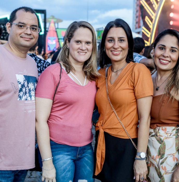 Joselito Neto, Raquel Horn, Luiza Fernandes E Katia Fernandes