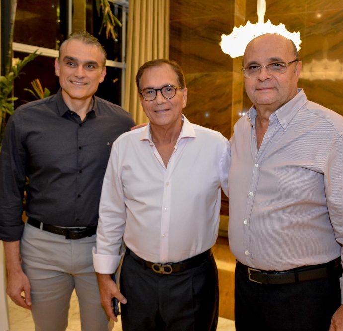 Josmario Cordeiro, Beto Studart E Fernando Cirino