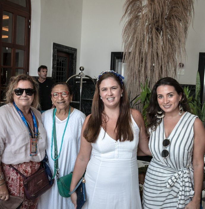 Joyce Pascowitch, Licia Fabio, Leticia Alcazar E Jessica Esteves