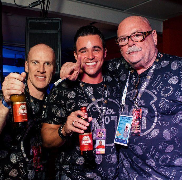Márcio Esher, Ricardo Dias, Victor Oliva