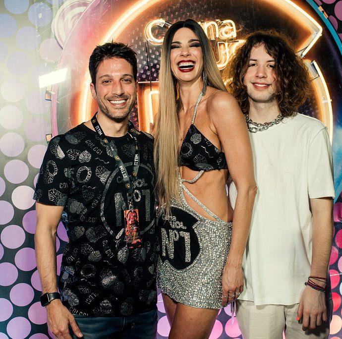 Marco Antônio Gimenez, Luciana Gimenez E Lucas Jagger