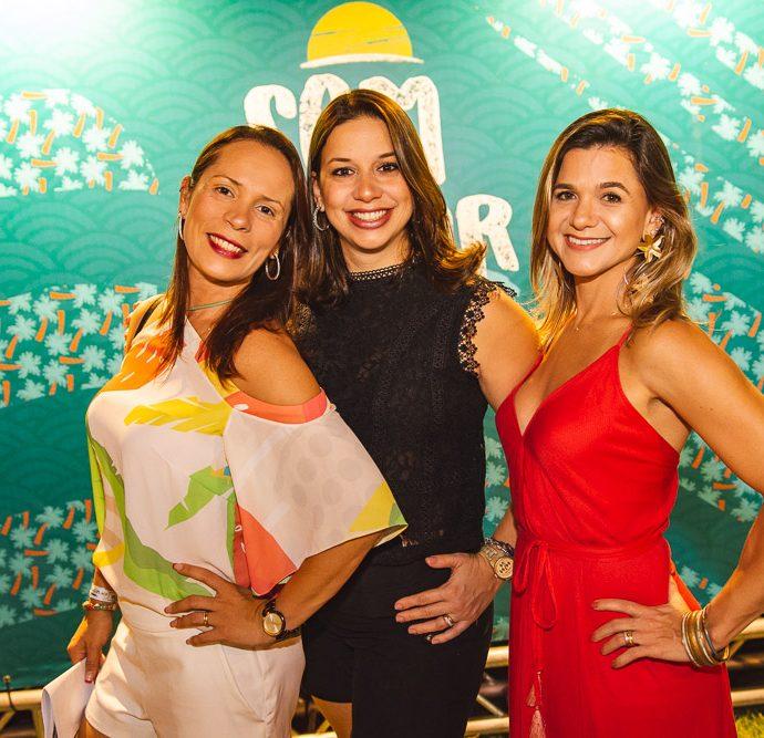 Leliane Soares, Mirela Braide E Aline Vasques