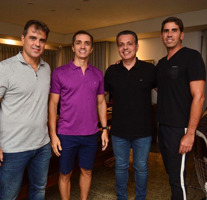 Germano Pessoa, Marcelo Marfrutas, Leonardo Dall'olio E Reimilson Cruz