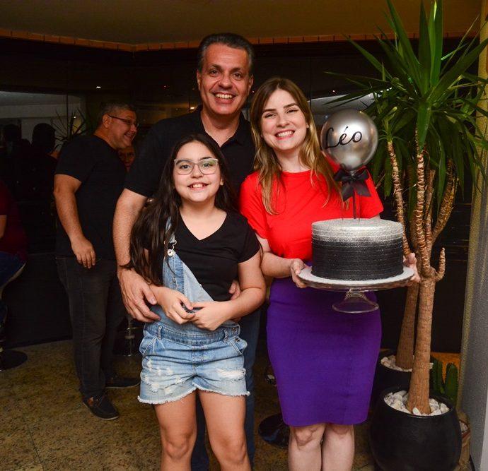 Leonardo, Maria Clara E Nicole Dall'olio