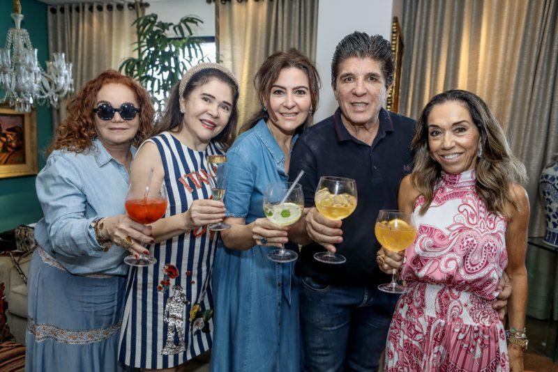 Sessão Parabéns - Chic e Intimista! Foi assim a estreia de Márcio Távora nas sete décadas