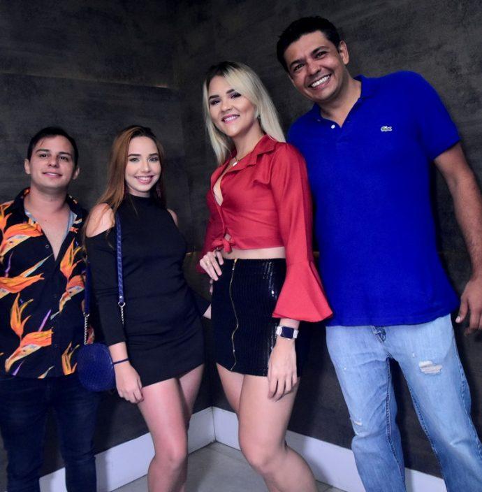 Lucas Mateus, Emile Farias, Leticia Feitosa, Igor Albuquerque
