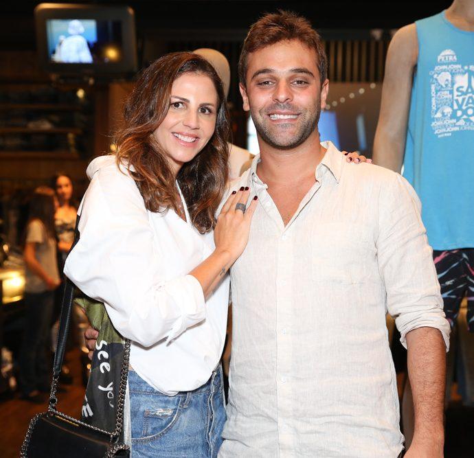 Luciana Villas Boas e Gabriel Khawali