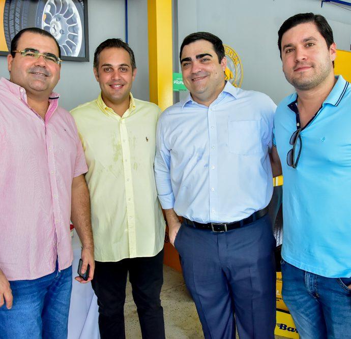 Luciano Neto, Bruno Bastos, Gabriel Magalhães E Daniel Duarte
