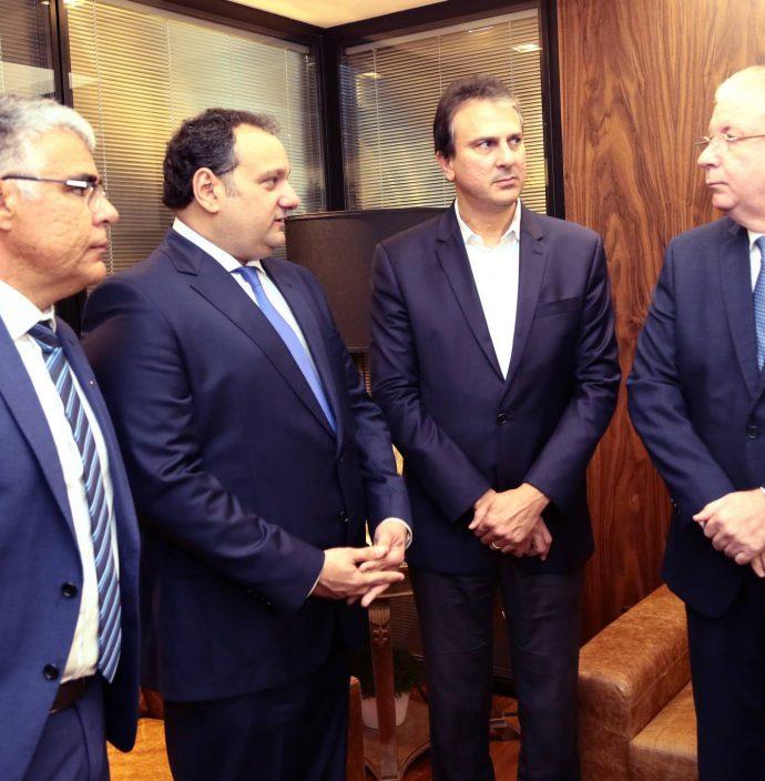 Luiz Eduardo Girao, Patriolino Dias, Camilo Santana E Ricardo Cavalcante