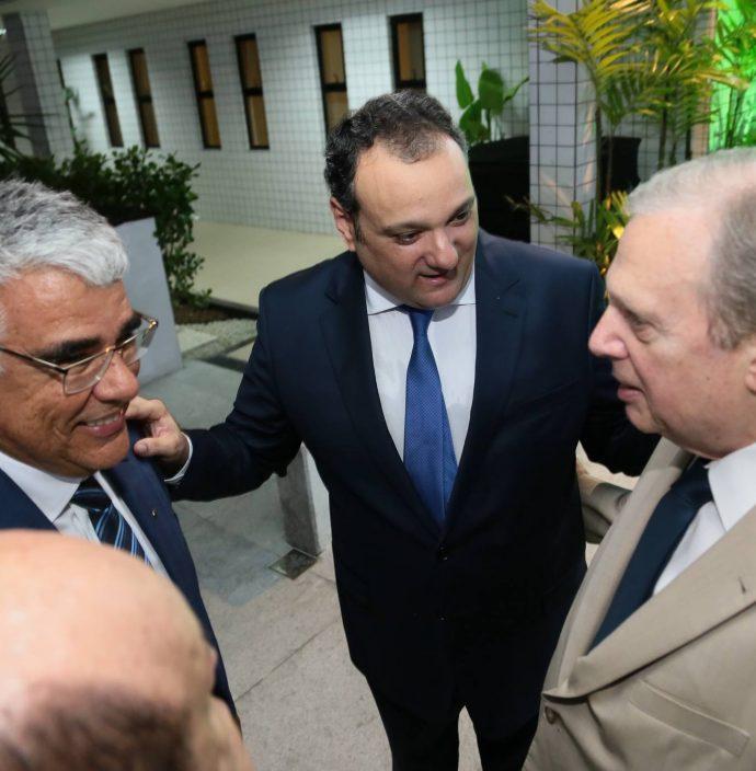 Luiz Eduardo Girao, Patriolino Dias E Tasso Jereissati