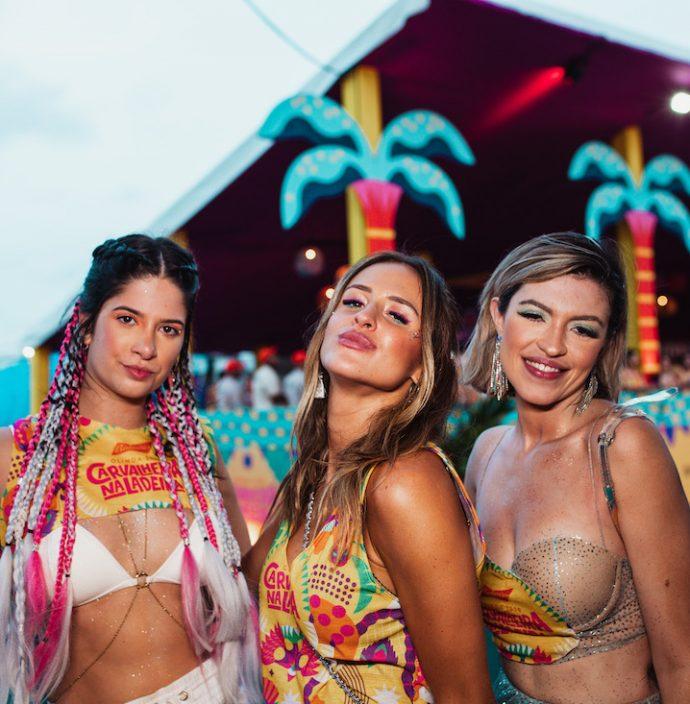 Luiza Cohin, Marina Gomes E Livia Canejo