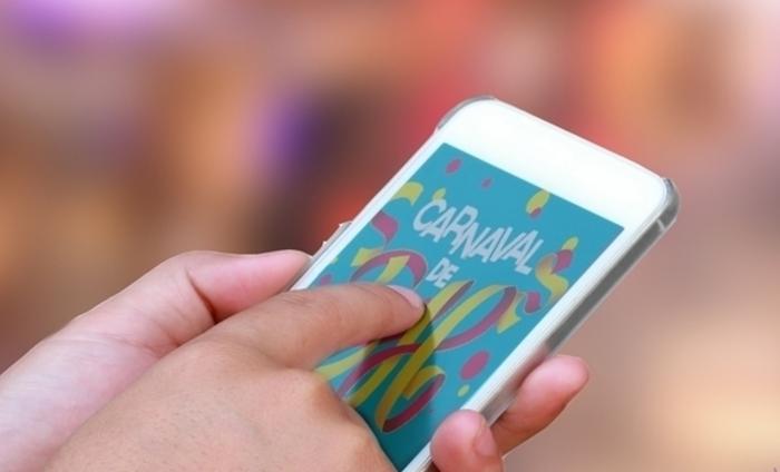 Confira quatro aplicativos que podem te ajudar durante o Carnaval