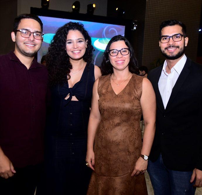Marcelo Camurça, Gabriela Oliveira, Emilly Luna, Francisco Valdo