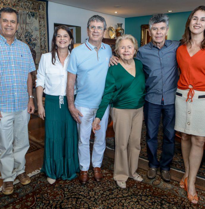 Marcelo, Marilia, Marcio, Elenir, Marcilio E Marcia Tavora