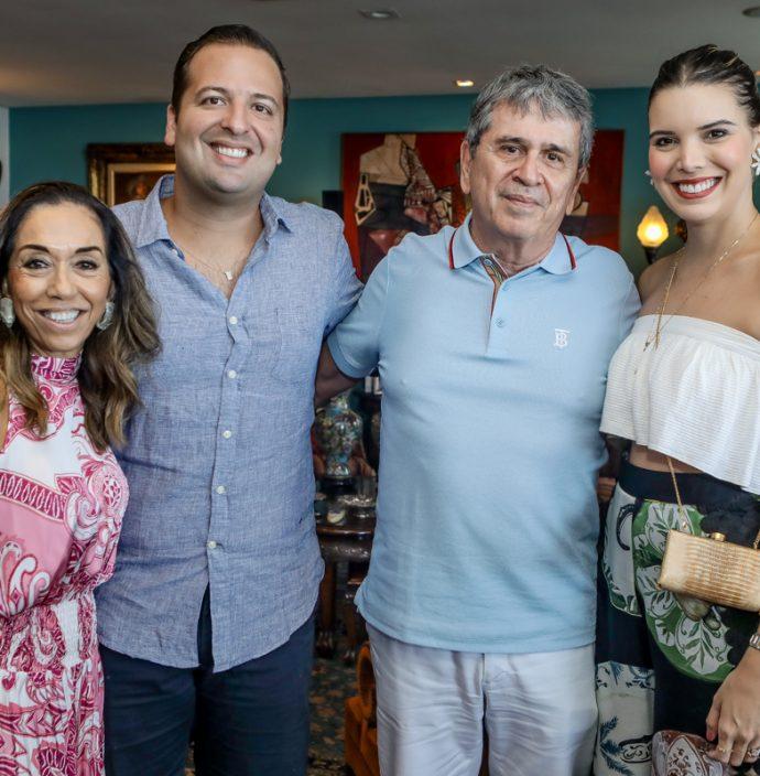 Marcia Tavora, Rodrigo Ponte, Marcio Tavora E Nathalia Ponte