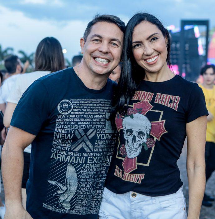 Marcio Cabral E Gabriela Morais