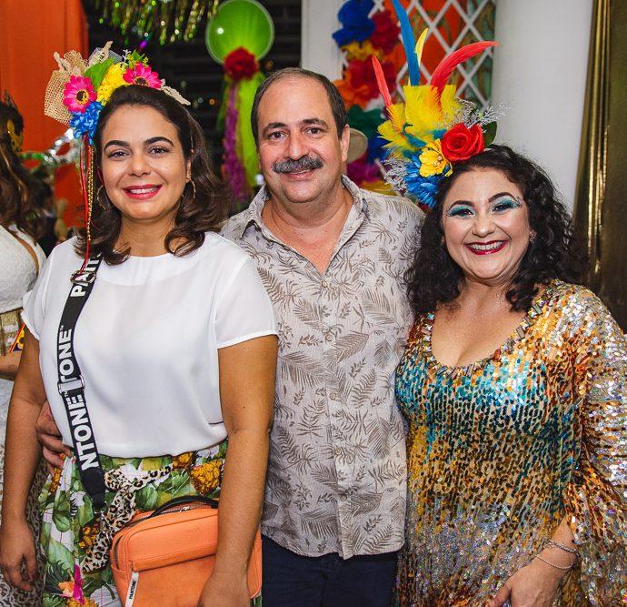 Mariana Holanda, Paulo Andre Holanda E Luciana Lira