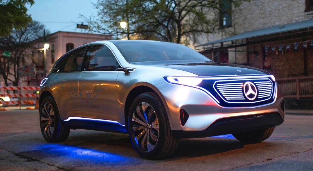 Mercedes-Benz Night 2020 apresenta primeiro 100% elétrico da marca